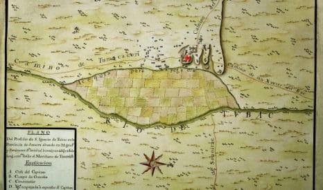 Urrutia Map, Tubac AZ