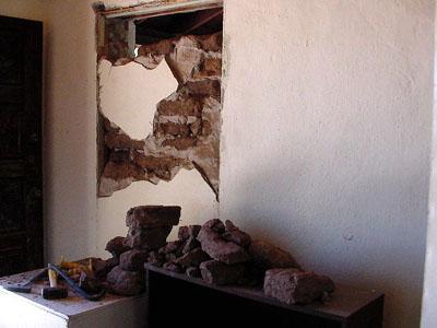 Breaking through Lowe House