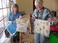 Susan Corl students, Papermaking