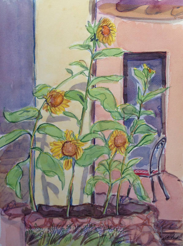 Sunflowers 1 - Virginia Vovchuck