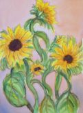 Sunflowers 3 - Virginia Vovchuck