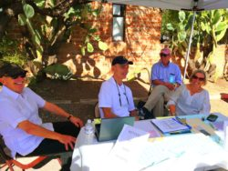 Tubac Adobe Tour volunteers