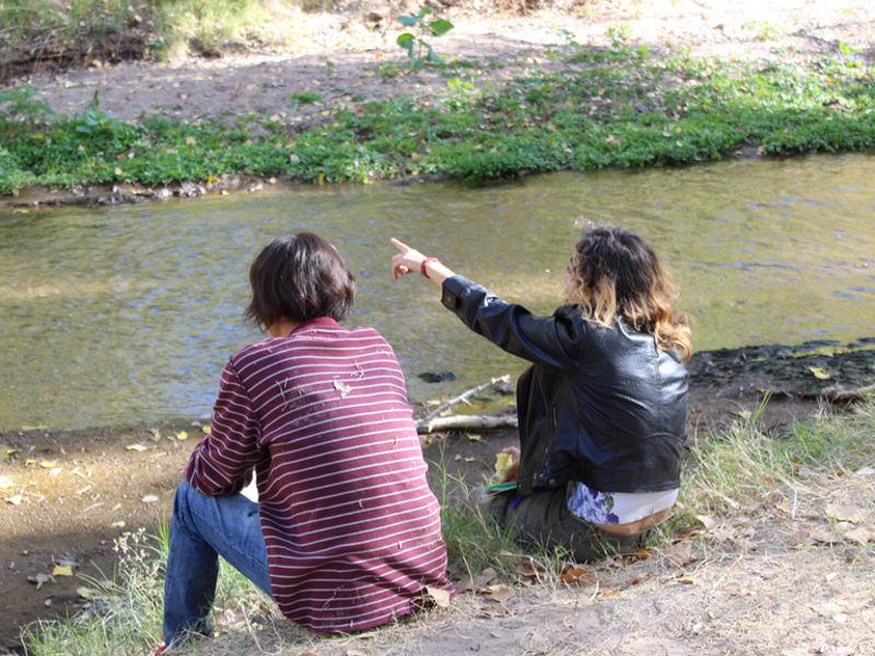 Along the Santa Cruz River - We Live Here!