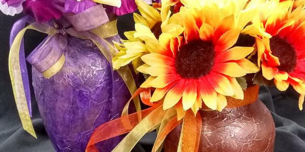Pamela Crittenden: Texture & Paint-A-Vase Playshop